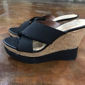 Donald Pliner Cork Wedges